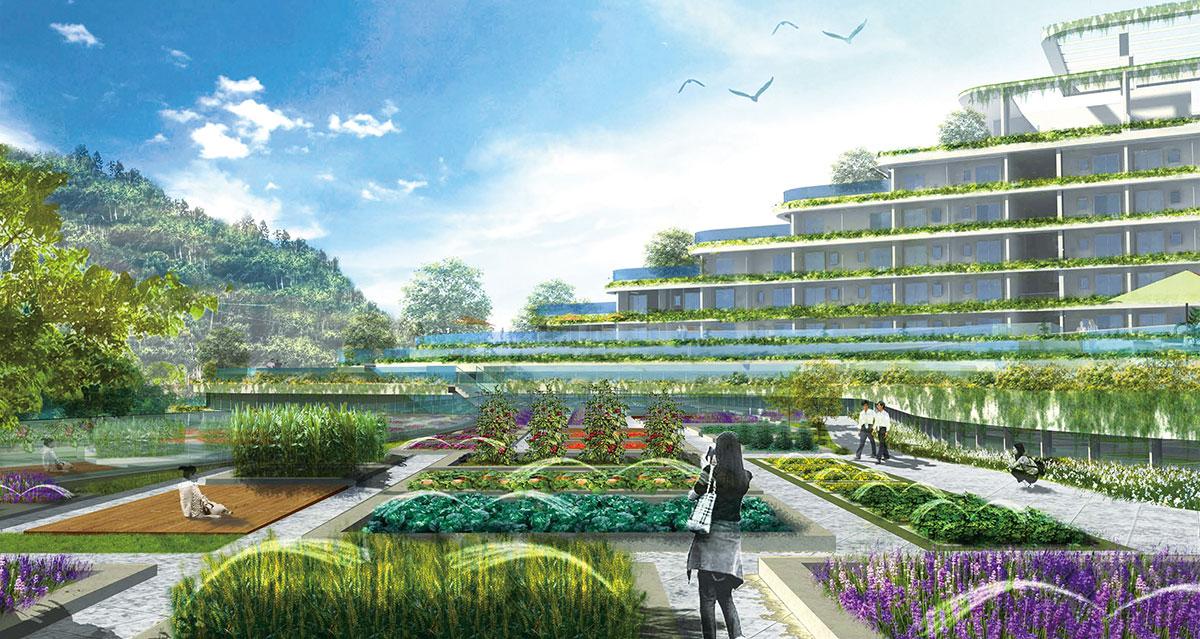 深圳BGI华大工程基因库概念设计建筑设计论文中级职称评定国家图片
